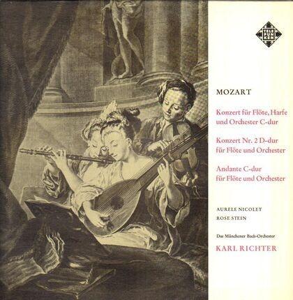 #<Artist:0x00007f4aa67a3120> - Aurelie Nicolet, Rose Stein, Das Münchener Bach-Orchester, Karl Richter