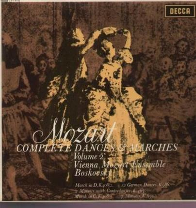 #<Artist:0x00007fb4fc7d55b0> - Complete Dances & Marches Volume 2; Vienna Mozart Ensemble, Boskovsky