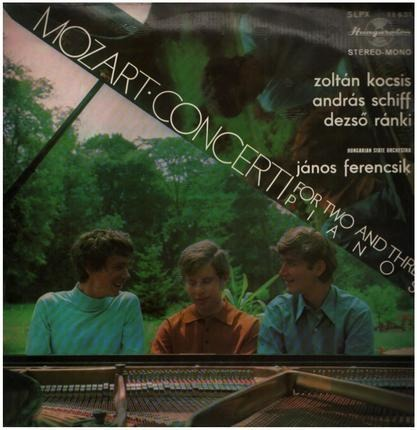 #<Artist:0x00007f7dfc5b5640> - Concerti for two and three Pianos,, kocsis, schiff, ranki, Hungarian state orchestra, ferencsik