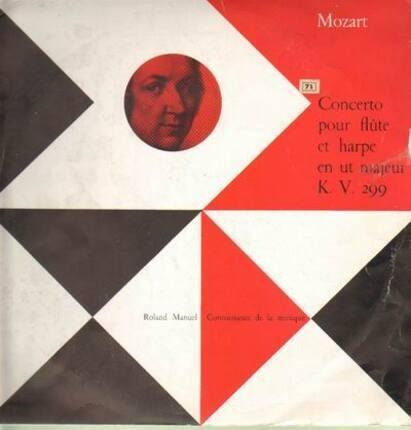 #<Artist:0x00007f84485c36d0> - Concerto pour flute et harpe en un majeur K.V. 299,, Paumgartner, R. Manuel