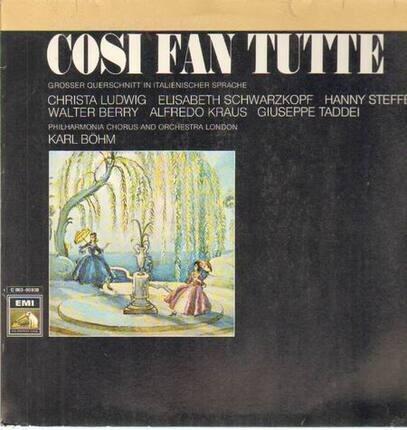 #<Artist:0x0000000008edebf0> - Cosi Fan Tutte,, Philh Chorus and Orch London, Böhm