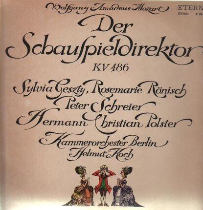 #<Artist:0x00007f7e1f898c18> - Der Schauspieldirektor,, Kammerorch Berlin, Helmut Koch