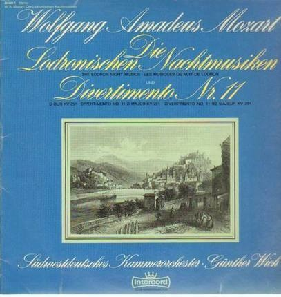#<Artist:0x0000000007425020> - Die Lodronischen Nachtmusiken, Divertimento Nr.11,, Südwestdeutsches Kammeroch, Wich