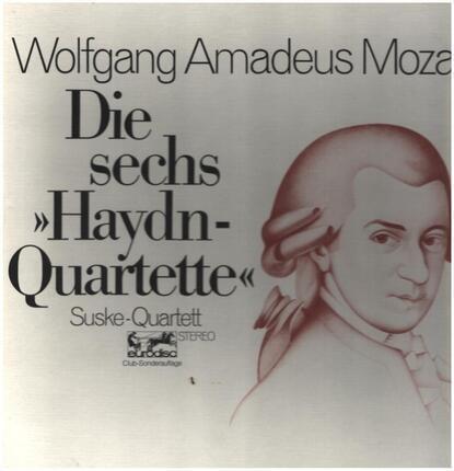 #<Artist:0x00007f68ccc113d0> - Die sechs Haydn-Quartette,, Suske-Quartett