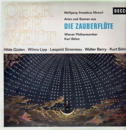 #<Artist:0x00007f4aa72ae060> - Die Zauberflöte,, Hilde Güden, Wilma Lipp, Leopold Simoneau, Karl Böhm