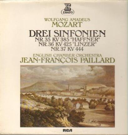 #<Artist:0x00007f4aa6e68690> - Drei Sinfonien-Haffner, Linzer, Nr. 37,, J.F. Paillaird, English Chamber Orch