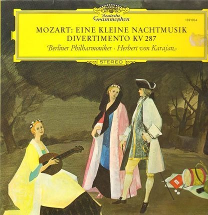 #<Artist:0x00007ff4833fa9b0> - Eine Kleine Nachtmusik, Divertimento; Berliner Philh., H.v. Karajan