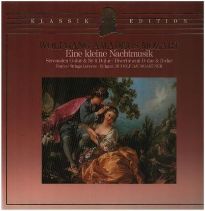 #<Artist:0x00007f7dfd4f1e60> - Eine kleine Nachtmusik,, Festival Strings Lucerne, Baumgartner