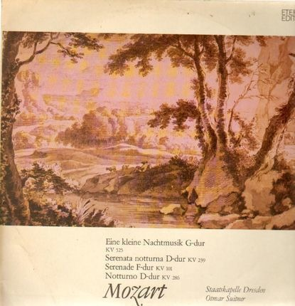 #<Artist:0x00007f4aa6dc6610> - Eine kleine Nachtmusik,, Staatskapelle Dresden, Suitner