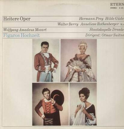 #<Artist:0x00007fb8002d0888> - Figaros Hochzeit,, Staatskapelle Dresden, Otmar Suitner