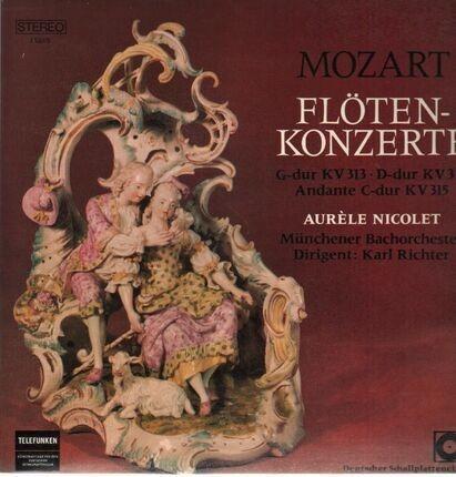 #<Artist:0x00007f7dffcf8d28> - Flötenkonzerte,, Nicolet, Münchener Bachorch, Richter