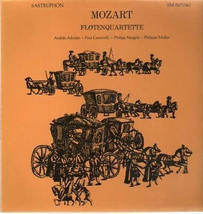 #<Artist:0x0000000006c3e618> - Flötenquartette,, A. Adorjan, P. Carmirelli, Ph. Naeglee, Ph. Muller