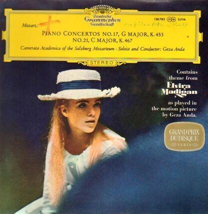 #<Artist:0x00007f10d1ac6168> - Klavierkonzerte, Piano Concertos KV 453, 467; Solist und Dirigent G. Anda