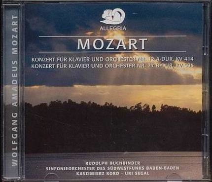 #<Artist:0x00007f25cc5a01d8> - Konzert für Klavier & Orchester Nr 12 a-Dur, KV 414 / Nr. 27-B-Dur, KV 595
