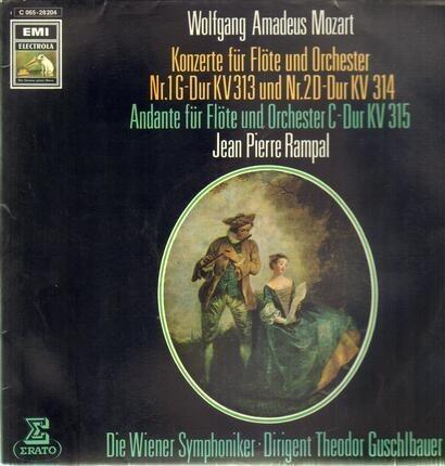 #<Artist:0x0000000006eb0248> - Konzerte für Flöte und Orch Nr.1 G-Dur und Nr.2 D-Dur, Andante für Flöte und Orch; J.P. Rampal