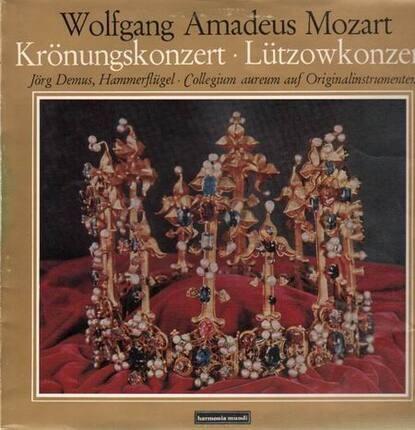 #<Artist:0x00007f7dfa3da390> - Krönungskonzert, Lützowkonzert,, J. Demus, Collegium aureum auf Originalinstr.