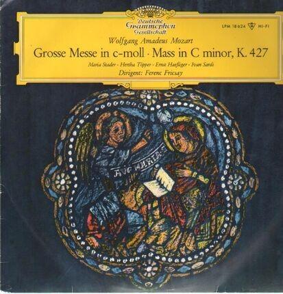 #<Artist:0x00007f4a93d848e0> - Grosse Messe in c-moll,, Stader, Töpper, Haefliger, Sardi, Fricsay