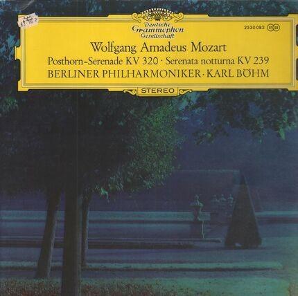 #<Artist:0x00007f4af51fad78> - Posthorn-Serenade KV320, Serenata notturna KV239 (Böhm)