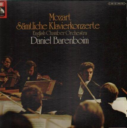#<Artist:0x0000000007faaee0> - Sämtliche Klavierkonzerte; English Chamber Orchestra, Barenboim