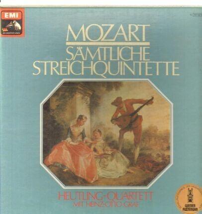 #<Artist:0x00007fa266593e30> - Sämtliche Streichquintette (Heutling-Quartett, Heinz-Otto Graf)