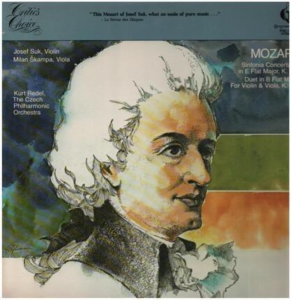#<Artist:0x00007f7e1d6d38a8> - Sinfonia Concertante in E Flat Major, Duet in B Flat Major,, Czech Philh Orch, Kurt Redel