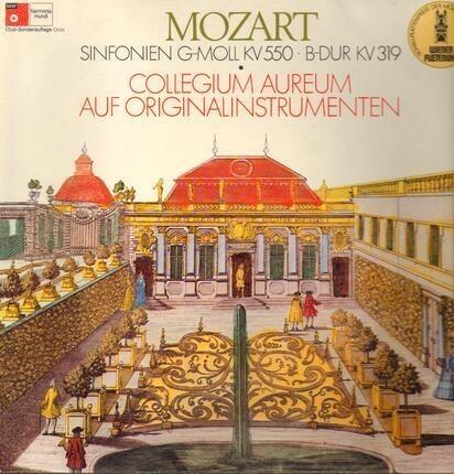 #<Artist:0x00007f4c9cf142b8> - Sinfonien G-Moll KV550, B-dur KV319,, Collegium Aureum auf Originalinstrumenten