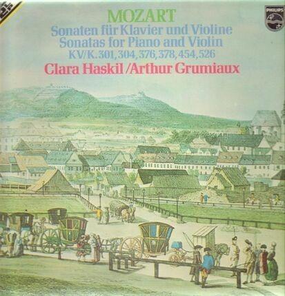 #<Artist:0x00007fd36d3a5438> - Sonaten für Klavier und Violine,, Clara Haskil, Arthur Grumiaux