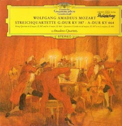 #<Artist:0x00007f7e1e574600> - Streichquartette G-Dur KV 387, A-Dur KV 464,, Amadeus-Quartett