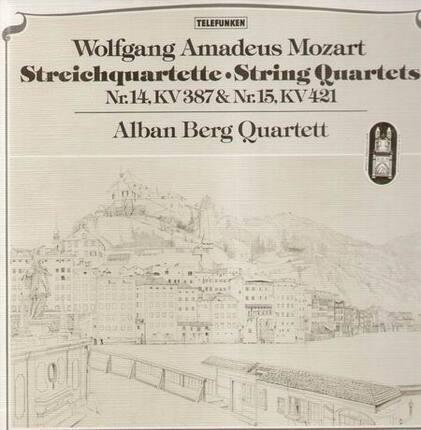 #<Artist:0x00007f7bb2aeda28> - Streichquartette,, Alban Berg Quartett