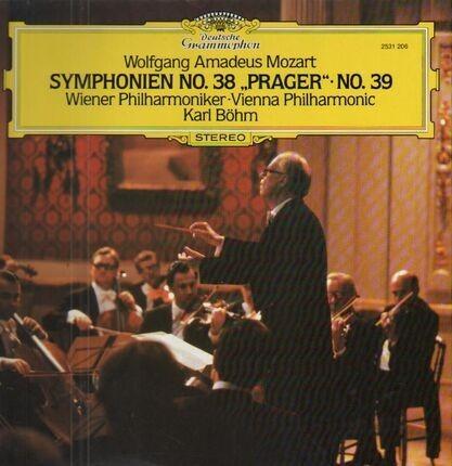 #<Artist:0x00007f91dc63c098> - Symphonien No.38 Prager, No.39,, Karl Böhm, Wiener Phil.