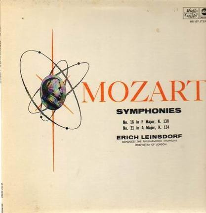 #<Artist:0x00007f4aa6fc36e8> - Symphonies Nos 18, 21,, Leinsdorf, Philh Symph Orch of London