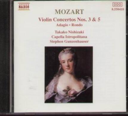 #<Artist:0x00007f9202b691d0> - Violin Concertos No. 3 & 5