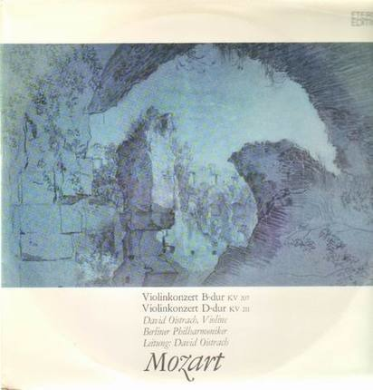 #<Artist:0x00007f40917045d0> - Violinkonzerte B-dur, D-dur,, D.Oistrach, Berliner Philh, D.Oistrach
