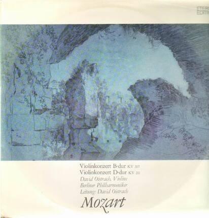 #<Artist:0x00007f7c75d9b630> - Violinkonzerte B-dur, D-dur,, D.Oistrach, Berliner Philh, D.Oistrach