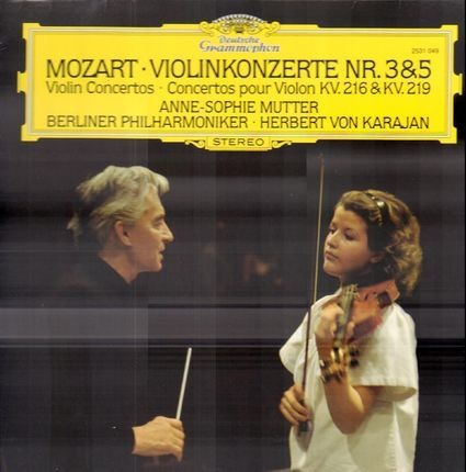 #<Artist:0x00007f17dbede5a0> - Violinkonzerte Nr.3 & 5; Anne-Sophie Mutter, Berliner Philh, Karajan