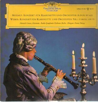 #<Artist:0x00007f7e1e729720> - Konzerte für Klarinette und Orchester,, Geuser, Radio-Symph-Orch belrin, Fricsay