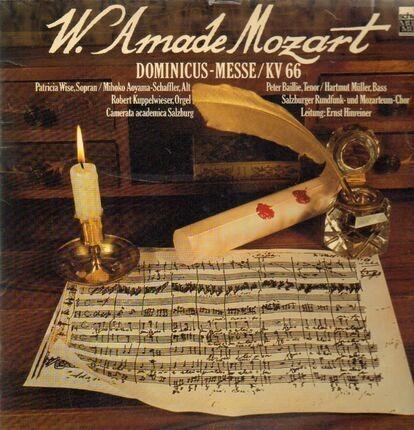 #<Artist:0x00007f7e1f0febd8> - Dominicus-Messe,, Salzburger Rundfunk- und Mozarteum-Chor, Camerata academica, Hinreiner