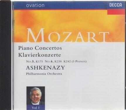 #<Artist:0x00007f32493ec510> - Piano Concertos