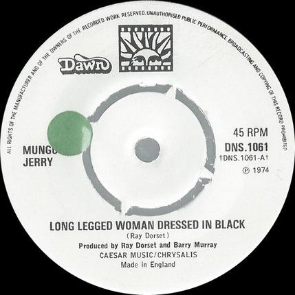 #<Artist:0x00007f9202662100> - Long Legged Woman Dressed In Black