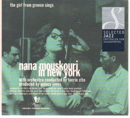 #<Artist:0x00007f2f43ced190> - Nana Mouskouri in New York