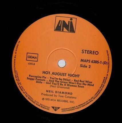 #<Artist:0x00007fcee2690600> - Hot August Night