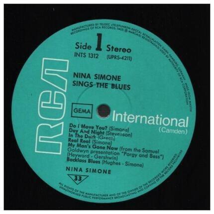 #<Artist:0x00007fc7575ce718> - Nina Simone Sings the Blues