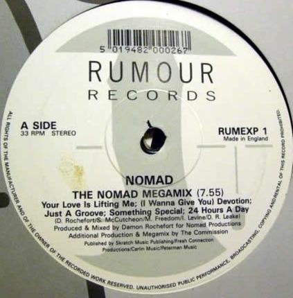 #<Artist:0x00007fd1346f7ce8> - The Nomad Megamix / (I Wanna Give You) Devotion