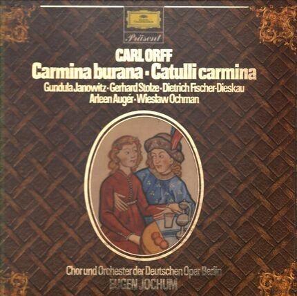 #<Artist:0x00007f410d13af60> - Carmina burana, Catulli carmina