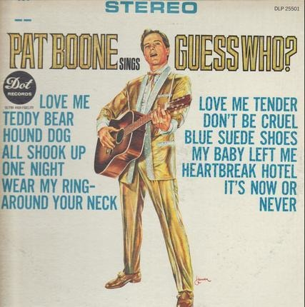 #<Artist:0x00007f412eba0510> - Pat Boone Sings Guess Who?