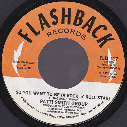 #<Artist:0x00007f515a6fe250> - Because The Night / So You Want To Be (A Rock 'n Roll Star)