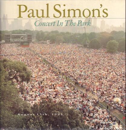 #<Artist:0x00007fae29eb49c8> - Paul Simon's Concert In The Park
