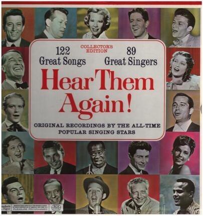 #<Artist:0x00007f8b1ca31408> - Hear Them Again!