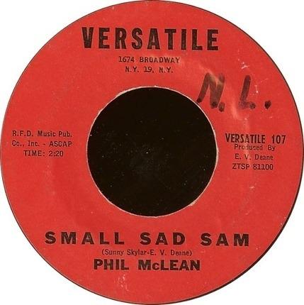 #<Artist:0x0000000007090950> - Small Sad Sam / Chicken