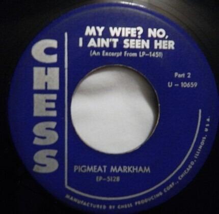 #<Artist:0x00007fc552c710b8> - My Wife? No, I Ain't Seen Her (Part 1 / Part 2)
